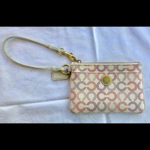 Coach Waverly Signature C Wristlet